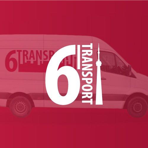 6Transport Courier Company Logo Design