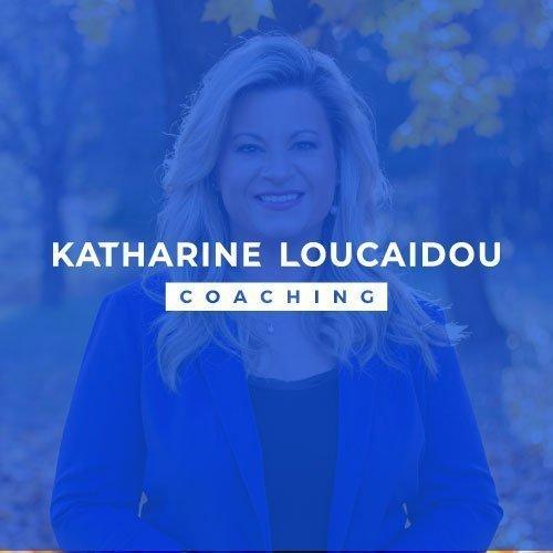 Katharine Loucaidou Coaching Logo Design