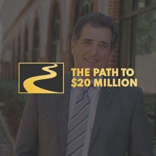 The Path to $20 Million Logo Design