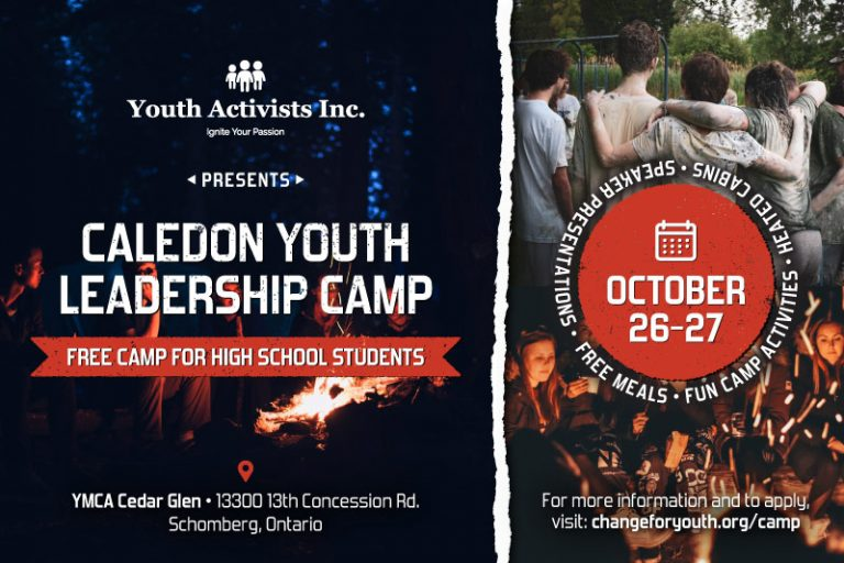 Youth Leadership Camp Social Media Post, Digital Design