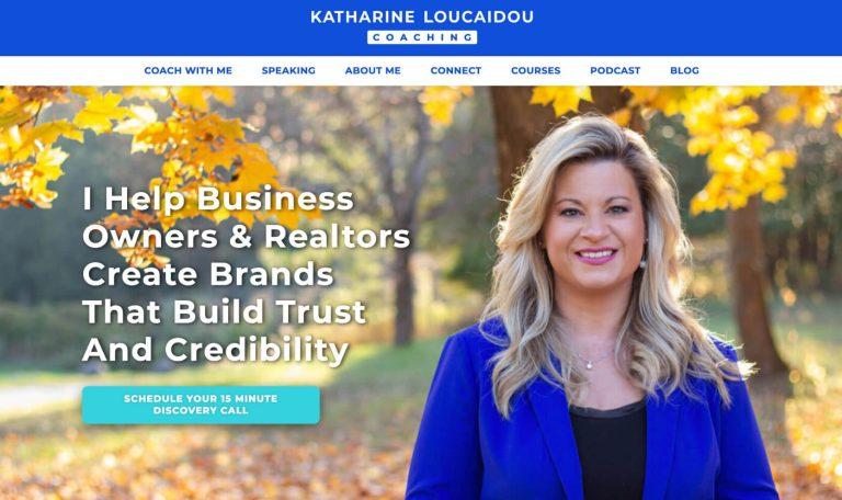 Katharine Loucaidou Coaching Website