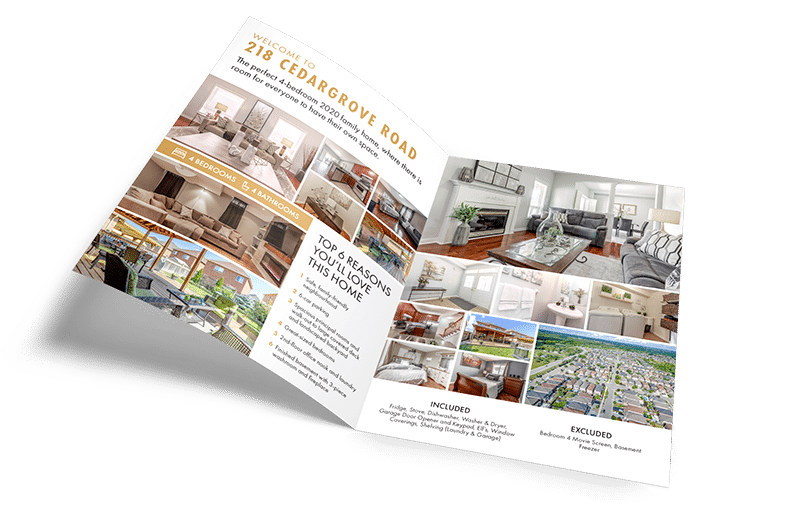 Real Estate Marketing Materials Brochure
