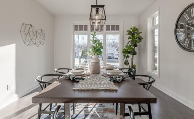 Dining Room Real Estate Photography